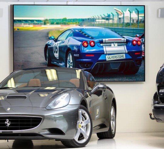 LED Display Auto Dealer Leasing Specific Demographics Showcasing - Auto display