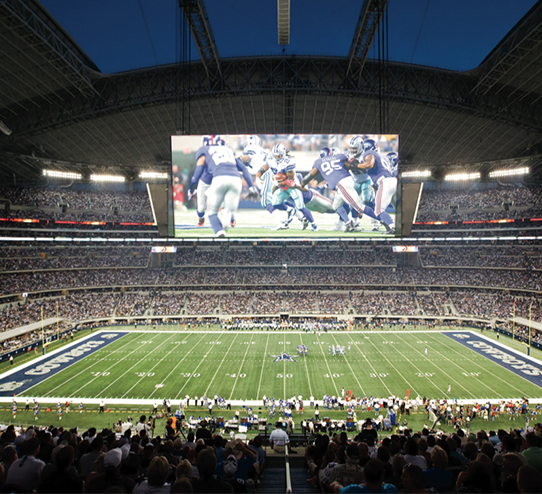 Exhibition Display Panel : Led display football advertisements entertainment and